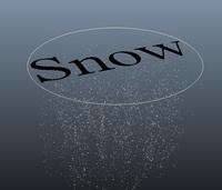 Snow Tool for Maya 1.0.0