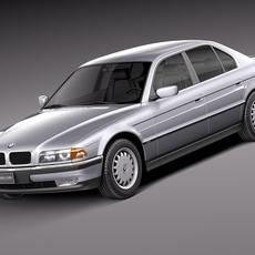 BMW 7-Series E38 1994 3D Model