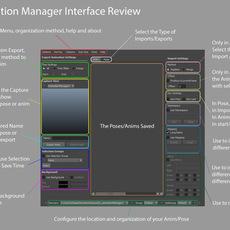 Animation Manager 0.9.29 / for Maya 0.9.2 (maya script)