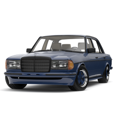 Mercedes-Benz W123 E-class AMG Edition 1985 3D Model