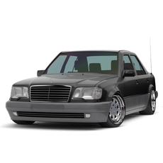 Mercedes-Benz E-class W124 E73 BRABUS Edition 1995 3D Model