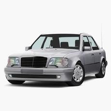 Mercedes-Benz E500 W124 E-Class 1993-95 3D Model