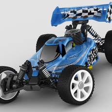 RC buggy model 3D Model