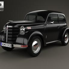 Opel Olympia (OL38) 1938 3D Model