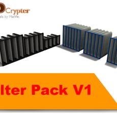 Air Filters Pack V1 3D Model