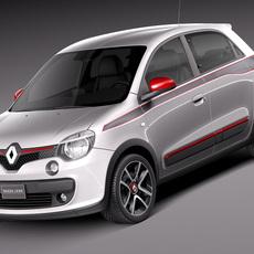 Renault Twingo 2015 3D Model