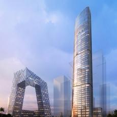 Skyscraper in city 087 3D Model