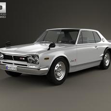 Nissan Skyline (C10) GT-R Coupe 1970 3D Model