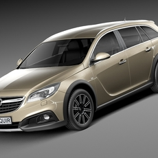 Opel Insignia Country Tourer 2014 3D Model