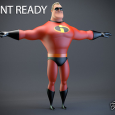 Mr. Incredible Printable 3D Model
