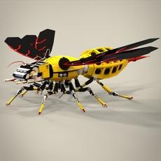 Robotic bee 3D Model