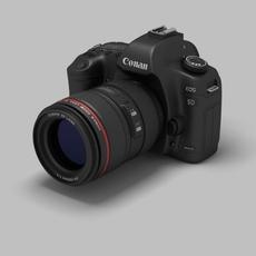 Canon EOS 5D 3D Model