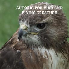Autorig : bird and flying creature for Maya 1.4.0 (maya script)