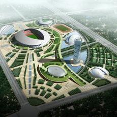 Grand Stadium 016 3D Model