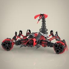 Robotic Scorpio 3D Model