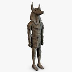 Anubis sculpture 3D Model