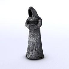 Stone Monk 3D Model