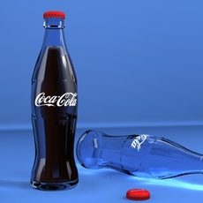 Coca-Cola Bottle 3d 3D Model