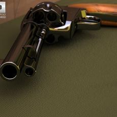 Colt Single Action Army 1873 3D Model