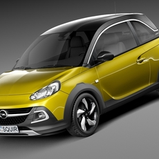 Opel Adam Rocks 2015 3D Model