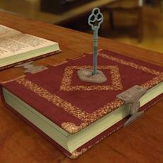 Key Of The Book 3D Model