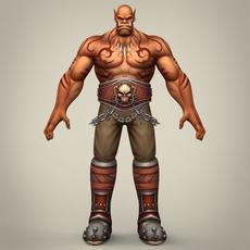 Fantasy Monster Pinda 3D Model