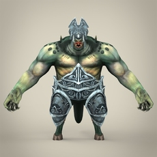 Fantasy Monster Piduliya 3D Model