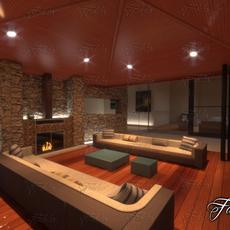 Living room 08 3D Model