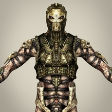Fantasy Warrior Jantola 3D Model