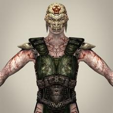 Fantasy Warrior Khatola 3D Model