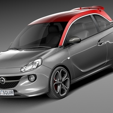 Opel Adam S 2015 3D Model