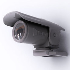 surveillance camera 3D Model