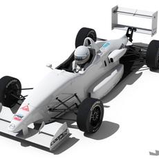 USF-2000 Formula 3D Model
