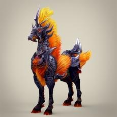 Fantasy Animal Dogra 3D Model