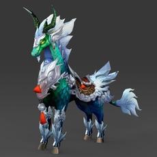 Fantasy Animal Gobru 3D Model