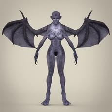 Fantasy Monster Jambaji 3D Model