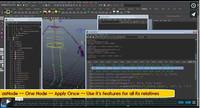 asNode -- A Node based auto rigging in Maya Python Scripting for Maya 2.0.0 (maya script)