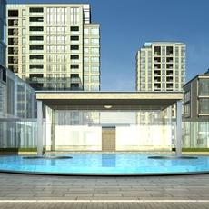 High-Rise Office Building 031 3D Model