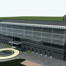 High-Rise Office Building 059 3D Model