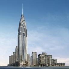 High-Rise Office Building 068 3D Model