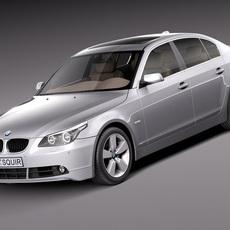 BMW 5-Series e60 Sedan 2004-2010 3D Model