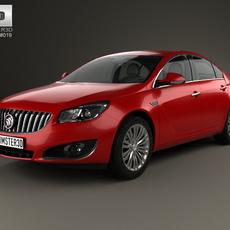Buick Regal 2014 3D Model