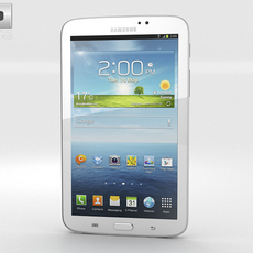 Samsung Galaxy Tab 3 7-inch White 3D Model