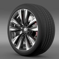 Mitsubishi Proudia wheel 3D Model