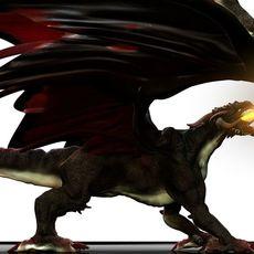 Realistic Dragon 3D Model