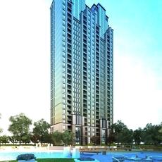 High Rise Residential Building 058 3D Model