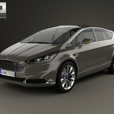 Ford S-Max 2013 3D Model