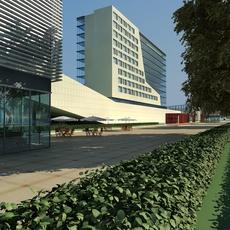 Street Landscapes 074 3D Model