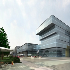 Office Building 065 3D Model