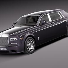Rolls-Royce Phantom Long 2013 3D Model